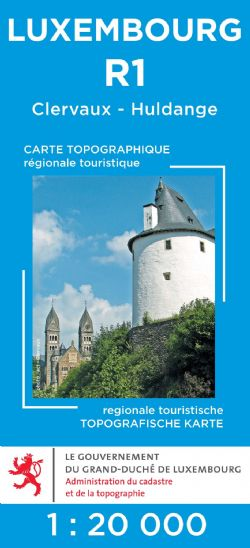 Luxembourg Tourist Maps at 1:20,000